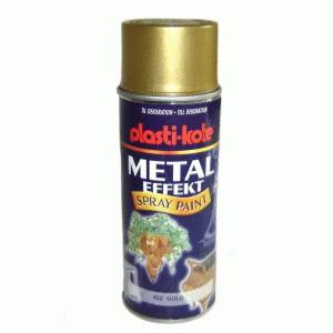 Spraymaling metal